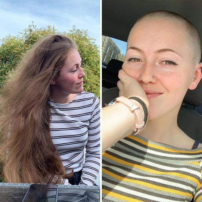 водитель еще мое отращивание волос фото до и после волосами