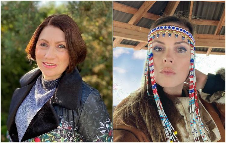 Женщины одинакового возраста, но совершенно разной внешности